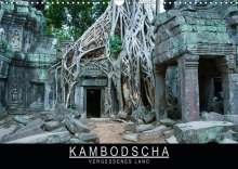 Stephan Knödler: Kambodscha - Vergessenes Land (Wandkalender 2020 DIN A3 quer), Diverse