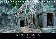 Stephan Knödler: Kambodscha - Vergessenes Land (Tischkalender 2020 DIN A5 quer), Diverse