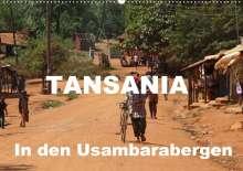 Bettina Blaß: Tansania. In den Usambarabergen (Wandkalender 2020 DIN A2 quer), Diverse