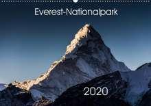 Jens König: Everest-Nationalpark (Wandkalender 2020 DIN A2 quer), Diverse