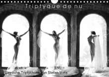 Stefan Weis: Triptyque de nu - Sinnliche Tryptichons (Wandkalender 2020 DIN A4 quer), Diverse