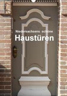 Martina Busch: Niedersachsens schöne Haustüren (Wandkalender 2020 DIN A3 hoch), Diverse