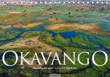 Olaf Bruhn: Okavango - Das Delta von oben (Tischkalender 2020 DIN A5 quer), Diverse