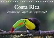 Ursula Di Chito: Costa Rica - Exotische Vögel im Regenwald (Tischkalender 2020 DIN A5 quer), Diverse
