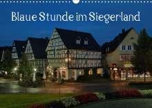 Schneider Foto Alexander Schneider: Blaue Stunde im Siegerland (Wandkalender 2020 DIN A3 quer), Diverse