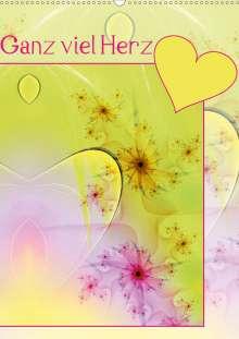 Susanne Schönberger: Ganz viel Herz (Wandkalender 2020 DIN A2 hoch), Diverse