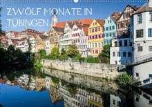 K. A. Caladoart: Zwölf Monate in Tübingen (Wandkalender 2020 DIN A2 quer), Diverse