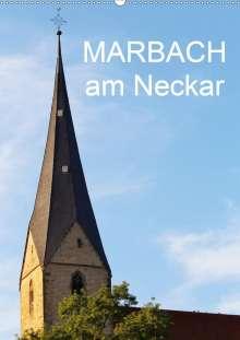 Anette Jäger/Thomas: Marbach am Neckar (Wandkalender 2020 DIN A2 hoch), Diverse