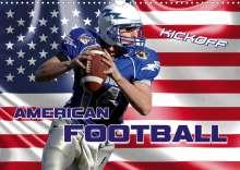 Renate Bleicher: American Football - Kickoff (Wandkalender 2020 DIN A3 quer), Diverse
