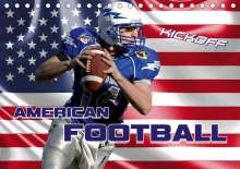 Renate Bleicher: American Football - Kickoff (Tischkalender 2020 DIN A5 quer), Diverse