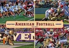 Peter Roder: American Football - athletisch und riskant (Wandkalender 2020 DIN A2 quer), Diverse