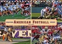 Peter Roder: American Football - athletisch und riskant (Tischkalender 2020 DIN A5 quer), Diverse