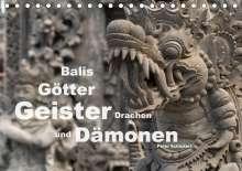 Peter Schickert: Balis Götter, Geister, Drachen und Dämonen (Tischkalender 2020 DIN A5 quer), Diverse