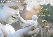 Tanja Riedel: Engel - Träume und Zitate (Tischkalender 2020 DIN A5 quer), Diverse