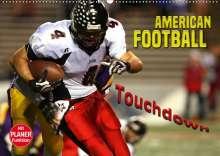 Renate Bleicher: American Football - Touchdown (Wandkalender 2020 DIN A2 quer), Diverse