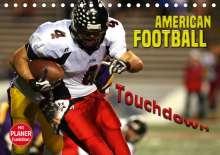 Renate Bleicher: American Football - Touchdown (Tischkalender 2020 DIN A5 quer), Diverse