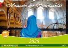 Claudia Wiens: Momente der Spiritualität (Wandkalender 2020 DIN A2 quer), Diverse