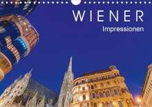 Werner Dieterich: W I E N E R  Impressionen (Wandkalender 2020 DIN A4 quer), Diverse