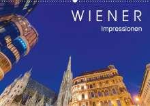 Werner Dieterich: W I E N E R  Impressionen (Wandkalender 2020 DIN A2 quer), Diverse