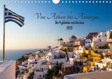 Janita Webeler: Von Athen bis Amorgos - Die Kykladen entdecken (Wandkalender 2020 DIN A4 quer), Diverse