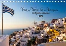 Janita Webeler: Von Athen bis Amorgos - Die Kykladen entdecken (Tischkalender 2020 DIN A5 quer), Diverse