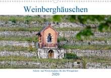 Hanns-Peter Eisold: Weinberghäuschen - Schutz- und Werkzeughaus für den Weingärtner (Wandkalender 2020 DIN A3 quer), Diverse