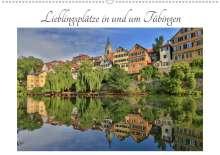Christoph Maas: Lieblingsplätze in und um Tübingen (Wandkalender 2020 DIN A2 quer), Diverse