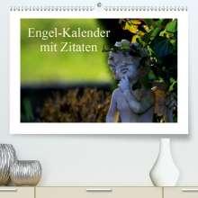 Tanja Riedel: Engel-Kalender mit Zitaten / CH-Version(Premium, hochwertiger DIN A2 Wandkalender 2020, Kunstdruck in Hochglanz), Diverse