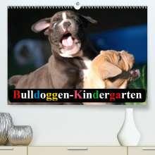 Elisabeth Stanzer: Bulldoggen-Kindergarten(Premium, hochwertiger DIN A2 Wandkalender 2020, Kunstdruck in Hochglanz), Diverse