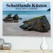 Elisabeth Stanzer: Schottlands Küsten. Karg, herb, traumhaft(Premium, hochwertiger DIN A2 Wandkalender 2020, Kunstdruck in Hochglanz), Diverse