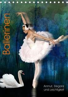 Harald Fischer: Ballerinen - Anmut, Eleganz und Leichtigkeit (Tischkalender 2020 DIN A5 hoch), Diverse