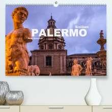 Peter Schickert: Sizilien - Palermo (Premium, hochwertiger DIN A2 Wandkalender 2020, Kunstdruck in Hochglanz), Diverse
