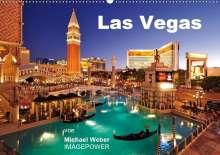 Michael Weber: Las Vegas (Wandkalender 2021 DIN A2 quer), Kalender