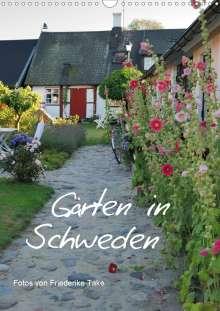 Friederike Take: Gärten in Schweden (Wandkalender 2021 DIN A3 hoch), Kalender