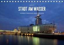 Sven Otte: Stadt am Wasser (Tischkalender 2021 DIN A5 quer), Kalender