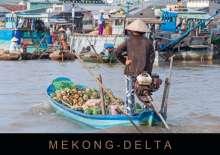 Martin Ristl: Mekong-Delta (Wandkalender 2021 DIN A2 quer), Kalender