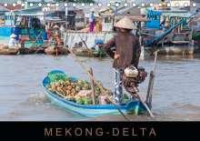 Martin Ristl: Mekong-Delta (Tischkalender 2021 DIN A5 quer), Kalender