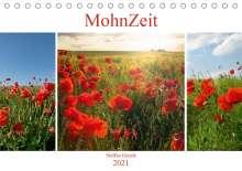 Steffen Gierok: MohnZeit (Tischkalender 2021 DIN A5 quer), Kalender