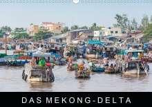 Martin Ristl: Das Mekong-DeltaAT-Version  (Wandkalender 2021 DIN A3 quer), Kalender