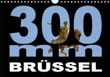 Thomas Bartruff: 300mm - Brüssel (Wandkalender 2021 DIN A4 quer), Kalender