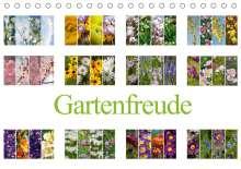 Steffen Gierok: Gartenfreude (Tischkalender 2021 DIN A5 quer), Kalender