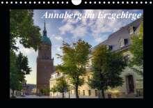 Matthias Bellmann: Annaberg im Erzgebirge (Wandkalender 2021 DIN A4 quer), Kalender