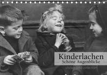 Ullstein Bild Axel Springer Syndication Gmbh: Kinderlachen - Schöne Augenblicke (Tischkalender 2021 DIN A5 quer), Kalender