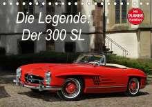 Stefan Bau: Die Legende: 300 SL (Tischkalender 2021 DIN A5 quer), Kalender