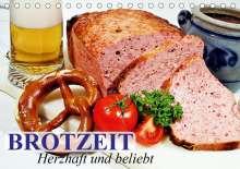 Elisabeth Stanzer: Brotzeit. Herzhaft und beliebt (Tischkalender 2021 DIN A5 quer), Kalender
