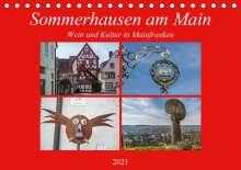 Hans Will: Sommerhausen am Main (Tischkalender 2021 DIN A5 quer), Kalender