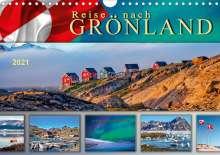 Peter Roder: Reise nach Grönland (Wandkalender 2021 DIN A4 quer), Kalender