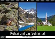 Ursula Di Chito: Kühtai und das Sellraintal (Wandkalender 2021 DIN A2 quer), Kalender