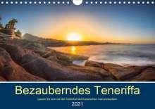 Stephan Kelle: Bezauberndes Teneriffa (Wandkalender 2021 DIN A4 quer), Kalender
