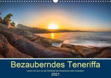 Stephan Kelle: Bezauberndes Teneriffa (Wandkalender 2021 DIN A3 quer), Kalender
